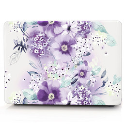 Macbook Retina 13 Inches Australia - FLOWER-6 Oil painting Case for Apple Macbook Air 11 13 Pro Retina 12 13 15 inch Touch Bar 13 15 Laptop Cover Shell