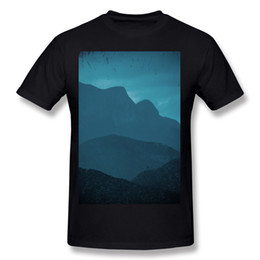 $enCountryForm.capitalKeyWord NZ - Designer Mens Percent Cotton blue mountain vintage Tee-Shirts Mens O Neck Black Short Sleeve T Shirts Big Size Normal Tee-Shirts