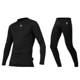 Nylon Coating Australia - Breathable motorcycle Fleece Lined Thermal Underwear racing Set Motorcycle Base Layer Winter Summer Long Shirts Tops Bottom Suit base coat