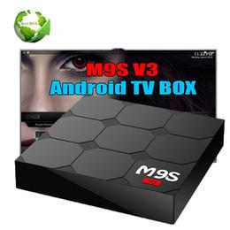 $enCountryForm.capitalKeyWord NZ - New M9S V3 Smart Android 6.0 TV Boxes Rockchip RK3229 Quad Core 1GB 8GB Quad Core Google Set Top Box 3D media players box