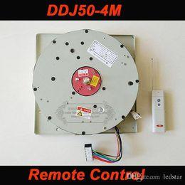 auto lamp remote control 2019 - DDJ50 50KG 4M Cable Auto Remote-controlled Hoist Chandelier Hoist lighting lifter Electric Winch Light Lifting System La