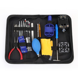 Parts storage cases online shopping - 23Pcs Tool Parts Watch Case Opener Link Remover Spring Bar Watch Repair Tool Kit With Black Water Resistant Storage Bag