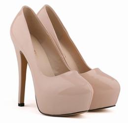 $enCountryForm.capitalKeyWord UK - Platform High Heel Shoes for Ladies Summer Style Black Stiletto Heel Shoes Round Toes Designer Dress Shoes A126