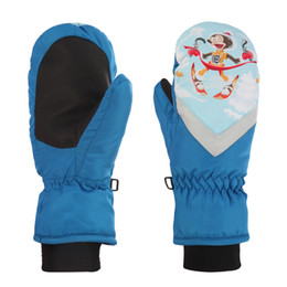 $enCountryForm.capitalKeyWord NZ - Children Winter Gloves Ski Riding Gloves kids waterproof Girls Boys Waterproof Thicken Thermal Kids Outdoor Skiing Glove
