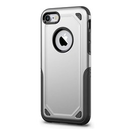 Chinese  Luxury Durable Armor Hard Shockproof Hybrid Case For iPhone 7 Case Silicone TPU Phone Back Cover For iPhone 7 Plus manufacturers