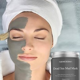 Face Sheet Pack NZ - Dead Sea Mud Mask Deep skin Cleanser Pore Reducer Natural Mineral-Infused Detoxifier Packed With Vitanins to promote youthful skin
