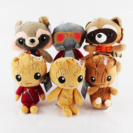 $enCountryForm.capitalKeyWord Australia - Guardians of the Galaxy Plush Dolls Cartoon Treeman Stuffed Animal Doll Figure Toys Baby Kids Toy Gift 20cm