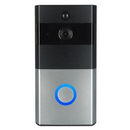 Z-BEN 720P IP видео домофон WI-FI видео домофон 1.0 MP дверной звонок WIFI дверной звонок камеры для квартир ИК-сигнализация беспроводной камеры безопасности на Распродаже