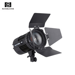 wholesale 100W LED Studio Light CN-P100WA Fresnel Spotlight for Photography Video Studio+Barndoor from t strings suppliers