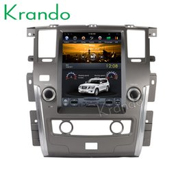 "$enCountryForm.capitalKeyWord Canada - Krando Android 6.0 12.1"" Tesla style Vertical screen car dvd audio player for Nissan Patrol 2010-2018 navigation multimedia system"