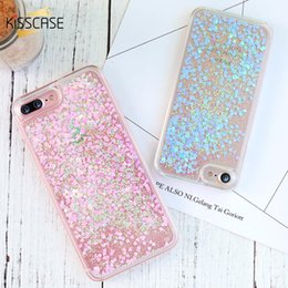 Iphone 4s Accessories Cases Australia - Bling Quicksand Phone Case For iPhone 6 6S Plus 5S Back Cover Glitter PC Cases For iPhone 5S SE 5 4S Shell Accessories