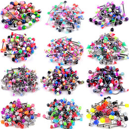 105 PCS Body Jewelry Piercing No Umbigo Umbigo Umbigo Barriga Lip Bar Anel 21 Estilo