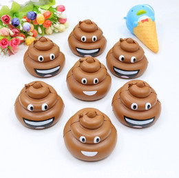 China Cute Poo Emoji Squishy 8.5CM Jumbo Soft Slow Rising Squeeze Stress Stretch Phone Straps Bag Key Pendant Kid Toys DIY Decoration suppliers