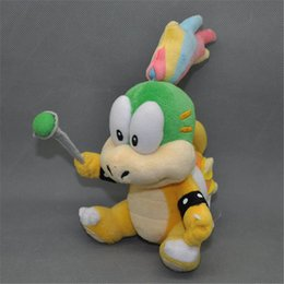 Koopa Figures Australia - EMS Super Mario Bros Koopa Lemmy 14CM Plush Doll Stuffed Best Gift Soft Toy