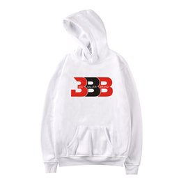 d2ec9f91a New Fashion BBB Letter Printed Hoodie Pullover Long Sleeve Autumn Winter  Black Gray White Men Sweatshirts