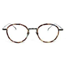 67ce58d5ff0d YOUTOP 2018 New Retro Square frame pure titanium Pure Hand-made myopia men  glasses frame prescription eyeglass 9136