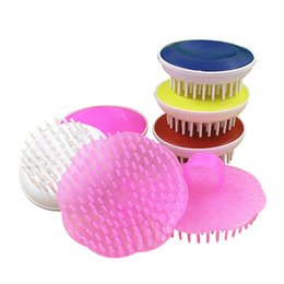 Massage Pet Brush Canada - Pet Bathing Massage Brush Dog Puppy Cleaning Hard And Soft Style Brushes Shampoo Comb Pet Combs Random Free Ship