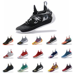 8f6ffc2b5544 2018 New Arrival Harden 2 Vol.2 Men s Basketball Shoes Wolf Grey Sports  Basket Ball Sneakers Training Size 7-11.5