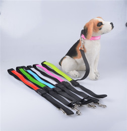 Basic Batteries online shopping - B12 Pet dog LED leahses leads pet traction rope pull strap for dogs cats cm length battery and USB Rechargeable