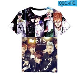 5fbb5bad66a BTS Anime 3D T Shirt Men Women Hip Hop Streetwear Tops Tees Casual Funny  Graphic Tshirt Plus Size Harajuku Oversized Tshirt