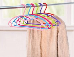 Suit SkirtS deSignS online shopping - Housekeeping new Clothes Hangers Portable Arc Hook Design Outdoor Clothes Drying Rack Plastic Hangers