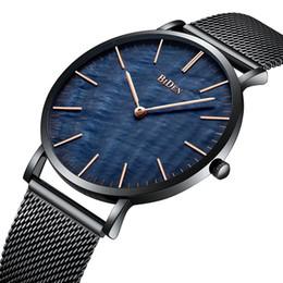 $enCountryForm.capitalKeyWord NZ - Luxury Top Brand Mens Watches Fashion Style Royal Blue Dial Comfortable Steel Mesh Band Waterproof Sports Wrist Watch Mens Clock