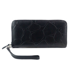leather cell phone cases UK - Wallets Female Women Wallet Long Stone Pattern Wallet Purse Clutch Wallet Handbag Credit Card ID Holder Case Wholesale Drop Shipping