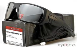 SunglaSSeS iridium online shopping - Sunglasses Designer Oo9239 Corankshaft Polarized Driving Man Glasses Matte Black Grey Iridium Les ok001