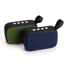 Cheap Wireless Player NZ - 2018 New Arrival Wireless Bluetooth Mini speaker FM Radio Subwoofer Outdoor Picnic Party Beach Portable HiFi Speakers Cheap Good Quality