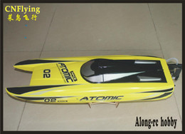 RC Model VolantExrc Vector70 V792-4 70cm Atomic Brushless High Speed ​​Racing 60km / h RC Boat (PNP o RTR 2.4GHz) in Offerta