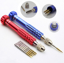 Wholesale Muti Function Screw Glasses Accessories Eyewear Screwdriver for all of Electric products maintain Screws and Nose Pads set freeshipping