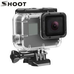 gopro hero dive housing NZ - wholesale 40M Underwater Waterproof Case for GoPro Hero 5 Black Go Pro Hero 6 Camera Diving Housing Mount for GoPro Hero 6 Accessory