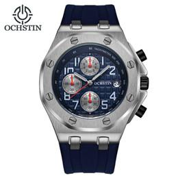 $enCountryForm.capitalKeyWord Australia - Men's Watch Multi-function Sports Waterproof High-end Fashion Atmospheric Simple Form Tape Men's Quartz Watch Calendar Luminous
