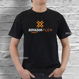 221c12aff68c Amazon Flex Logo Door Dash Uber Black T-shirt Size S M L XL 2XL 3XL 2018  High quality Brand Men T shirt Casual Short sleeve