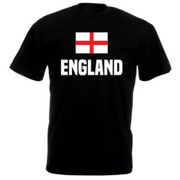 Wholesale Brand T Shirt Men Cotton Fashion T Shirt Hot Sale Clothes England Flag Man Fashion Round Collar Fashion Style Men Tee