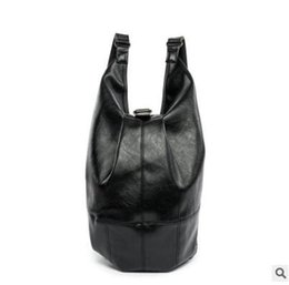 99c8048e5a34 factory sales brand bag multifunction trend Korea backpack large Japanese  minimalist waterproof backpack Men Leather Satchel