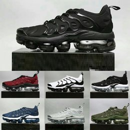 2018 Fashion New Vapormax TN Plus Olive Metal 12 Color Men's Casual Shoes Sports Men's Shoes Bags Triple Black Three White 2014 unisex buy cheap best store to get view cheap price deals online Orange 100% Original vMWiaya5