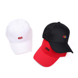 cd306ae1631 424 baseball cap new fashion men and women letter funny hats justin bieber  hip hop caps black white red bones snapback hats