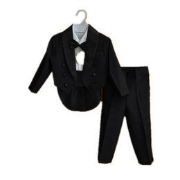 $enCountryForm.capitalKeyWord UK - BBWOWLIN Formal Tuxedo Suit Baby Boy Christmas Clothes for 3 - 9 Years Boy White Black Gentleman Infant Clothing Onesie 70774