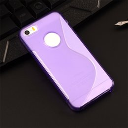 Iphone s online shopping - For iPhone7 Plus S line TPU Gel Soft Case Cover Hybrid Clear Skin For iphone S Plus