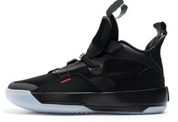 Boys hunting online shopping - 2018 New goes laceless basketball Shoes XXXIII Mitchell Shoe High Visible Utility Boys Training Sneakers best good price online shopping