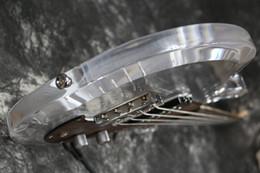 China Free Shipping Dan Armstrong Ampeg Electric bass guitar Acrylic Body rosewood pickguard Fix bridge Crystal Guitar cheap acrylic electric guitars suppliers