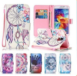 Owl Leather Iphone Case NZ - Dream Owl Tree Skeleton PU Leather Flip Case for iphone 6 6S 7 8 Plus Galaxy S7 Egde Stand Cover Case With Card Holder