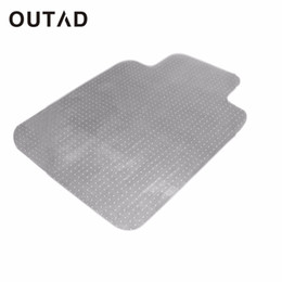 Chinese  OUTAD PVC Home Chair Blanket Mat Studded Back With Lip For Standard Pile Carpet Protecting Chair Pad Office Mat manufacturers