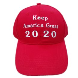 2020 Donald Trump Red Hat Re-Election Keep America Great Embroidery USA  Flag MAGA New Cap Cotton Baseball Hat cap 2f39db87a27c
