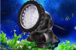 Impermeable IP68 RGB 36 LED Luz de Punto Subacuática Para Piscina Fuentes Estanque Agua Jardín Acuario Tanque de Peces Lámpara de Proyector en venta