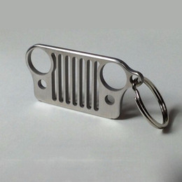 74ca1099ff Keychain Key chain ring online shopping - High Quality Keychain Keyring  Stainless Steel Grill Key Chain