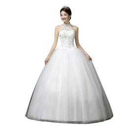 86dc78b56fb Neue Mode Vintage Spitze pailletten 2018 Brautkleider Halfter Elegante Traum  Prinzessin Plus größe Vestido De Noiva Braut Kleider h63