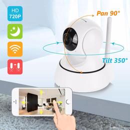 Venta al por mayor de Caliente 720P 960P 1080P SANNCE Inicio de seguridad inalámbrica inteligente de la cámara de vigilancia IP Wifi de la cámara giratoria 360 visión nocturna cámara CCTV monitor de bebé