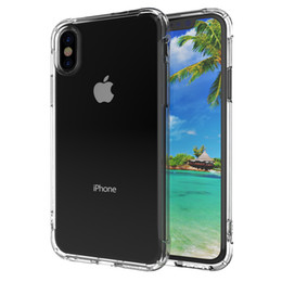 Cell Phone Cases For Cheap Canada - For iphone protective smartphone cases cheap cell phone cases front speaker hole shockproof soft tpu bumper for iphone X